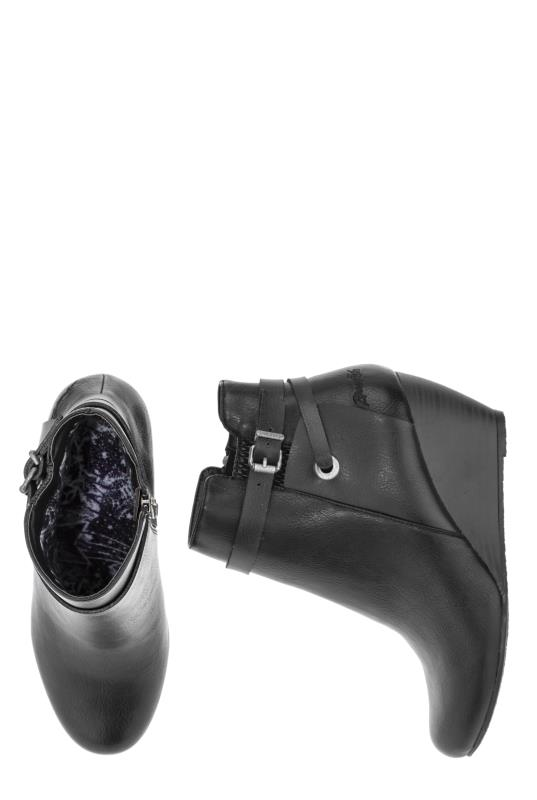 Black Blowfish Batik Ankle Boots