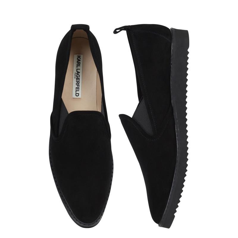 Karl Lagerfeld Paris Black Clement Sneaker