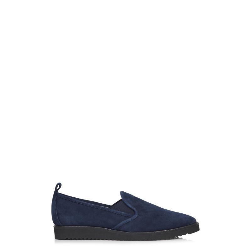 KARL LAGERFELD Navy Clement Sneaker