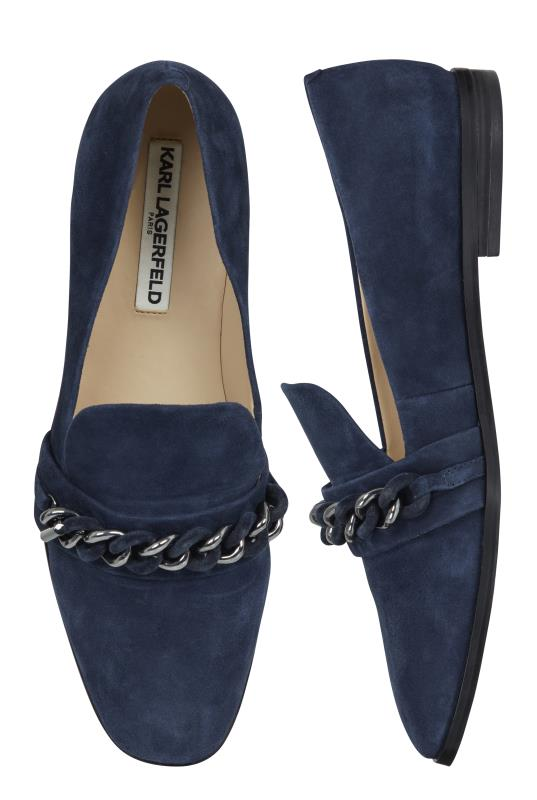 Karl Lagerfeld Paris Navy Lynete Slip-On