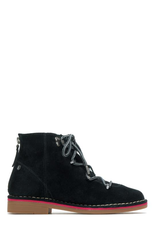 Hush Puppies Black Catelyn Hiker Ankle Boot