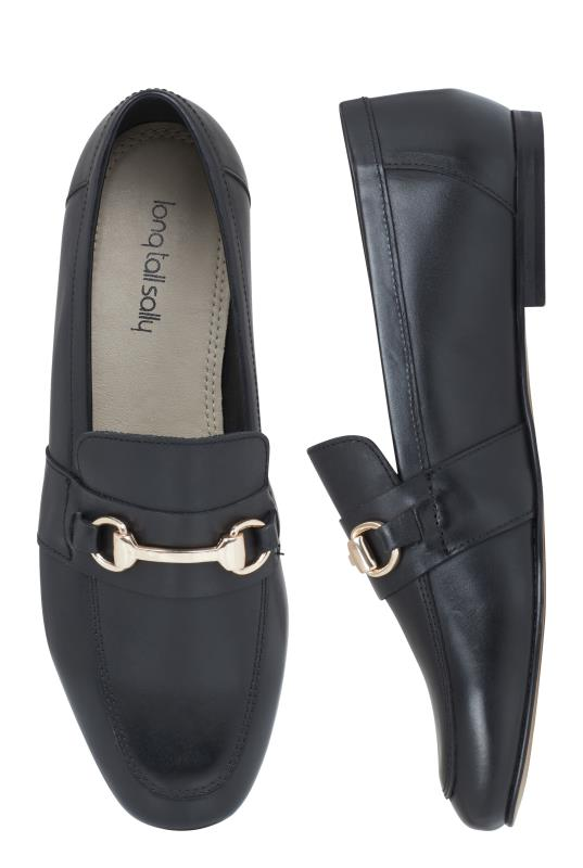 LTS Black Louise Leather Loafer