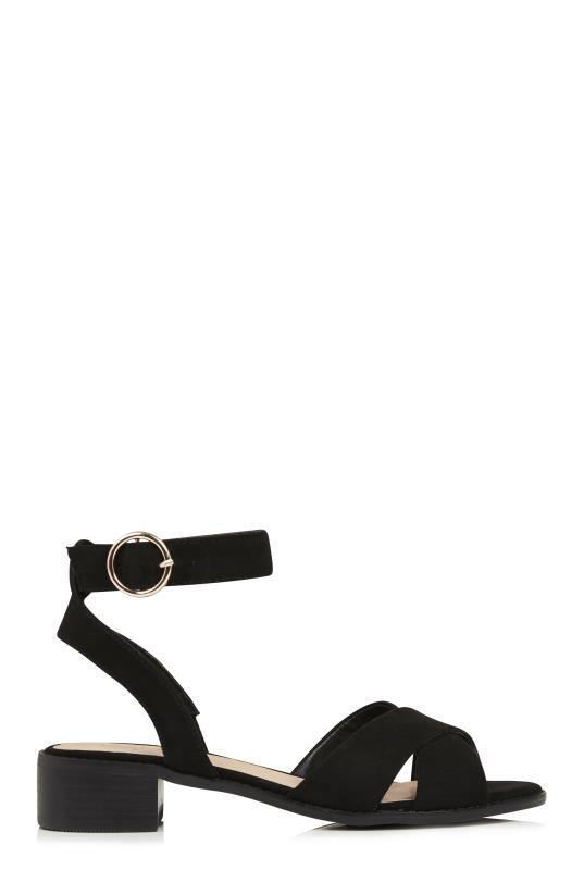 LTS Rose Two Part Block Heel Sandal
