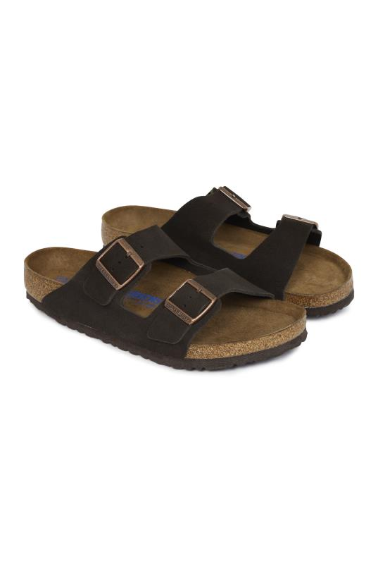 Tall Sandals Birkenstock Suede Arizona Sandal