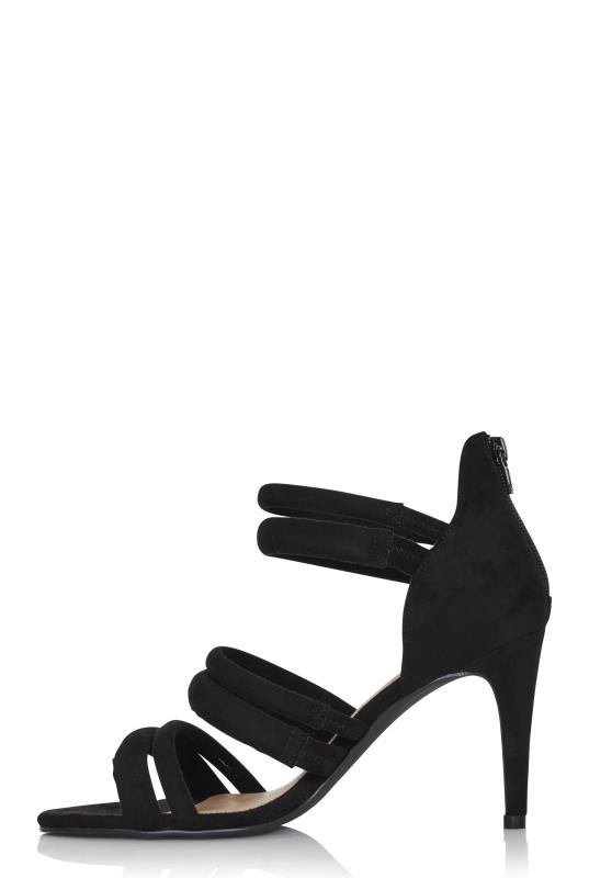LTS Black Rosetta Strappy Heels_3.jpg