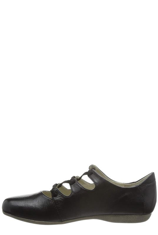 Black Josef Seibel Fiona Flat Shoe