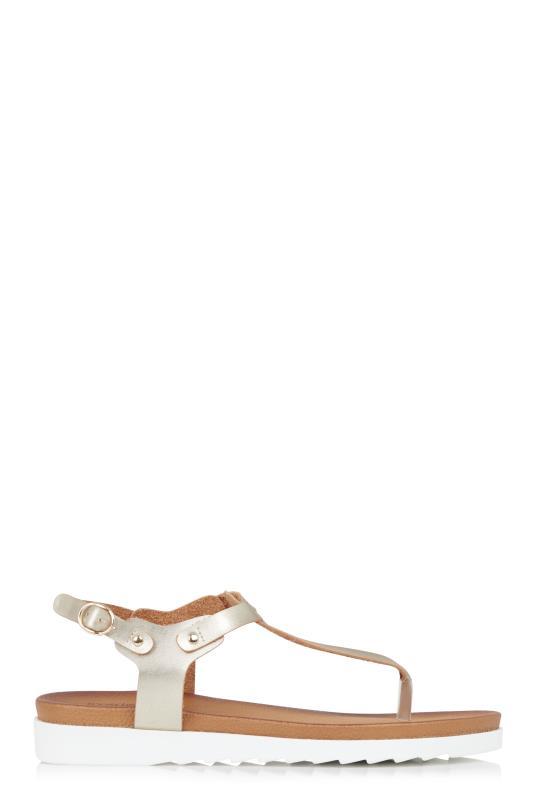 Gold Chloe T-Bar Footbed Sandal_1.jpg
