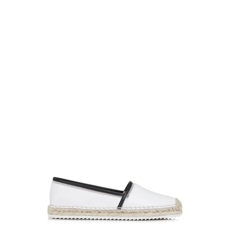 Karl Lagerfeld Paris Alaine Espadrille Flat Shoe