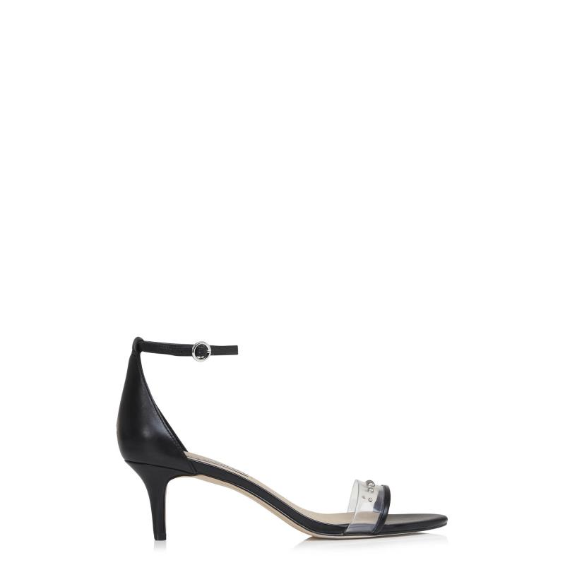 Tall Sandals KARL LAGERFELD Black Dixie Ankle Strap Sandals