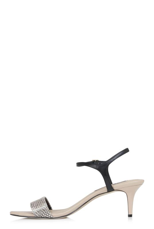 Karl Lagerfeld Paris Demas Heel Sandals