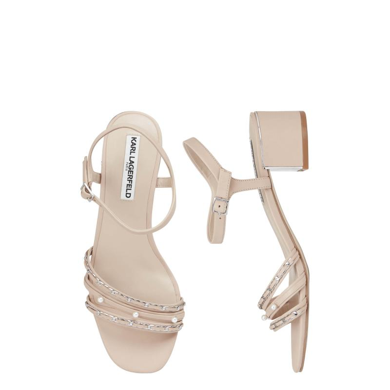 Karl Lagerfeld Paris Tori Block Heel Sandals