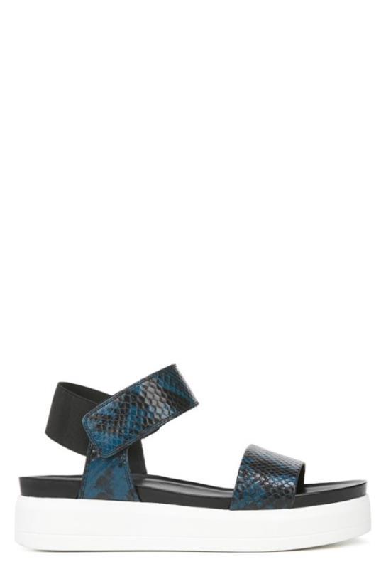 Tall Sandals Franco Sarto Kana Teal Wedge Sandals