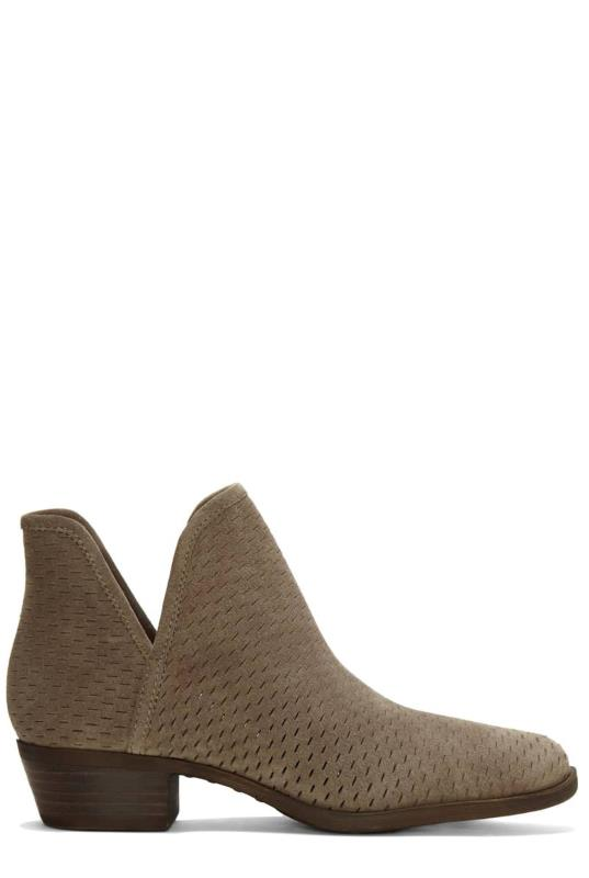 Taupe Lucky Brand Baley Ankle Boots