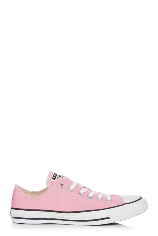 Tall Lace Ups CONVERSE ALL STAR Pink Trainer
