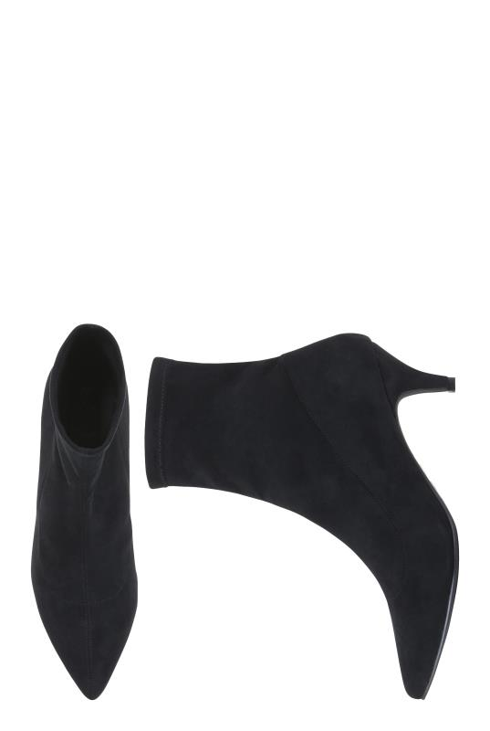 LTS Black Siena Sock Boot