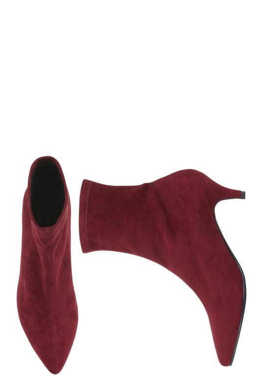 LTS Red Siena Sock Boot