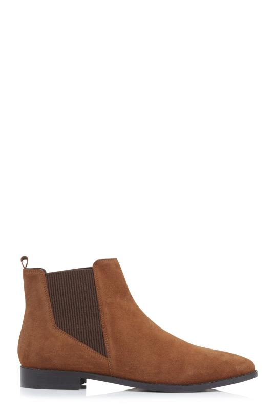 Tan Leather Chelsea Boots