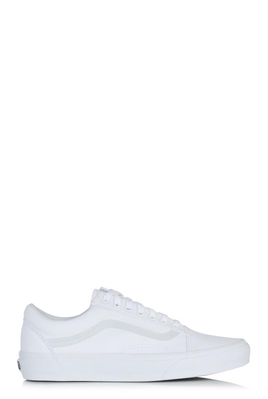 Tall Lace Ups White Vans Old Skool