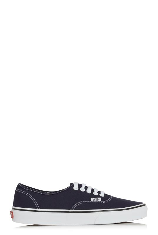 Tall Lace Ups Black Mono Vans Authentic