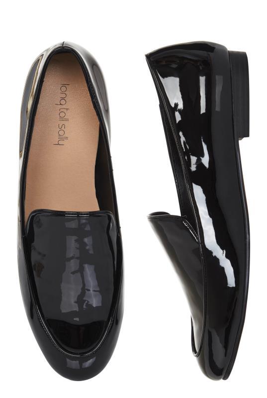 Black Patent Kadi Loafer