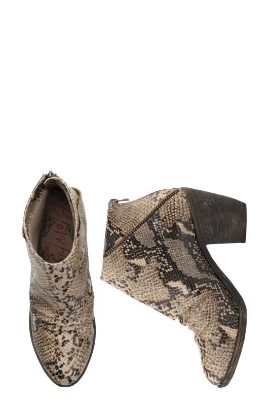 Blowfish Senaca Natural Snake Ankle Boot