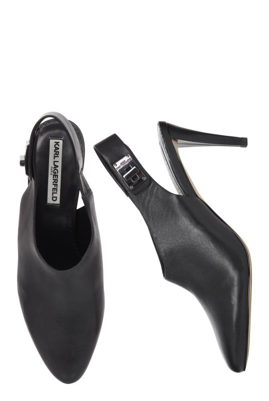 Karl Lagerfeld Paris Maddie Ankle Strap Pump
