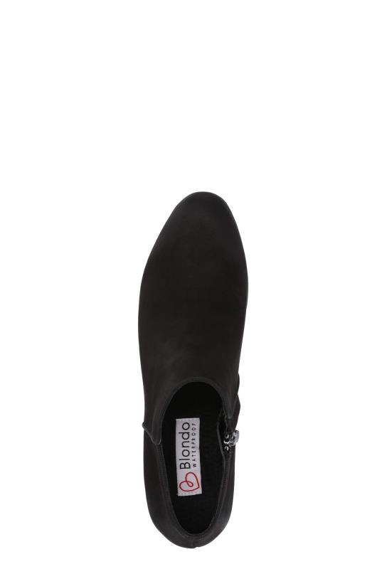 Black Blondo Villa Nubuck Ankle Boot