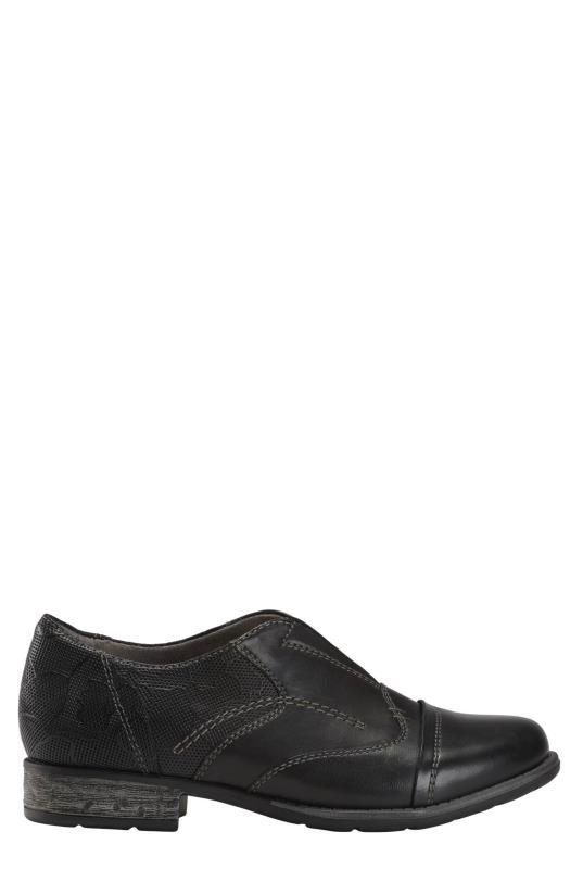Tall Loafers EARTH Black Avani Banyan Oxford