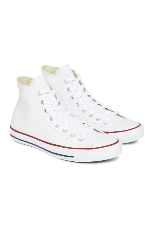 White Converse All Star Hi Top