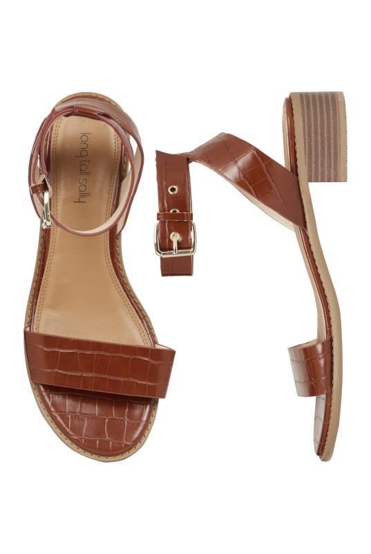 Brown Shruti Two Part Block Heel Sandal_2.jpg