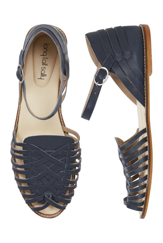 LTS Billie Woven Leather Huarache