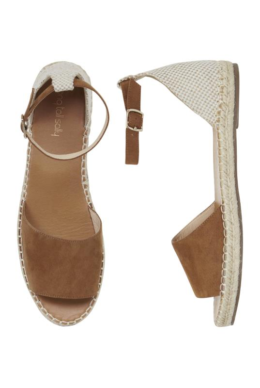 Tan Lolly Two Part Espadrille