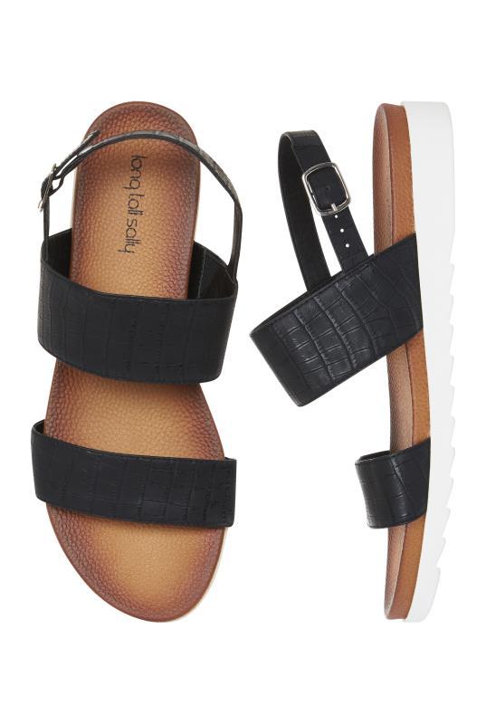 Black Moulded Footbed Sandals_2.jpg