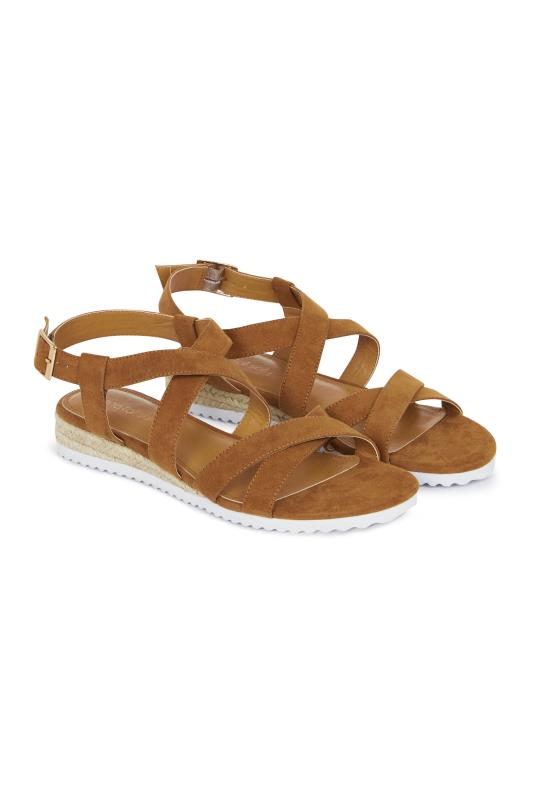 Tall Sandals LTS Nicole Low Espadrille Wedge
