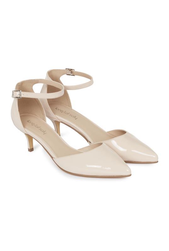 LTS Delila Ankle Strap Kitten Heel