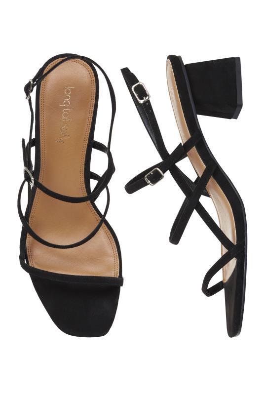 LTS Jodiene Strappy Mid Heel Sandal