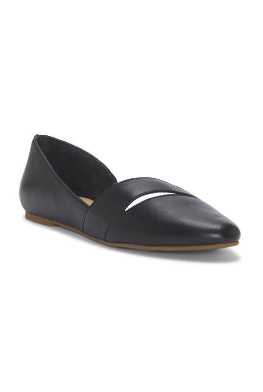 Black Lucky Brand Ashena Ballerina Flats