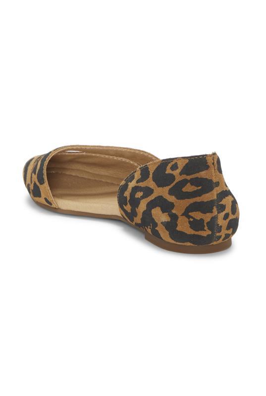 Leopard Lucky Brand Ashena Ballerina Flats