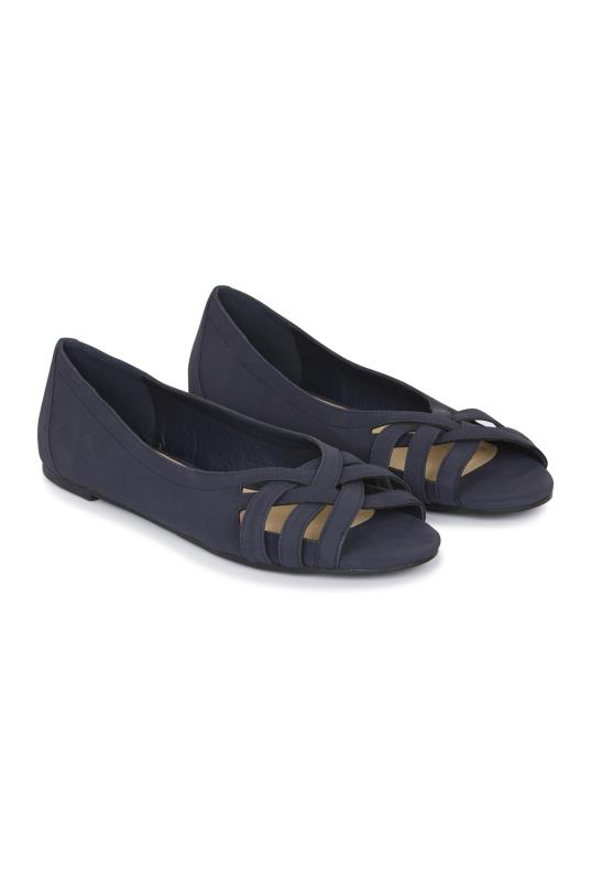 Tall Shoes LTS Ami Weave Peep Toe