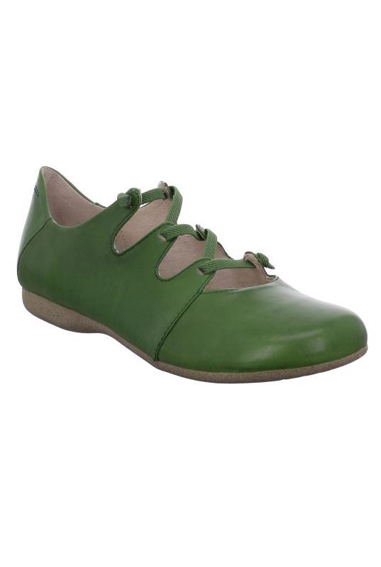 Tall Shoes Green Josef Seibel Fiona Leather Shoe