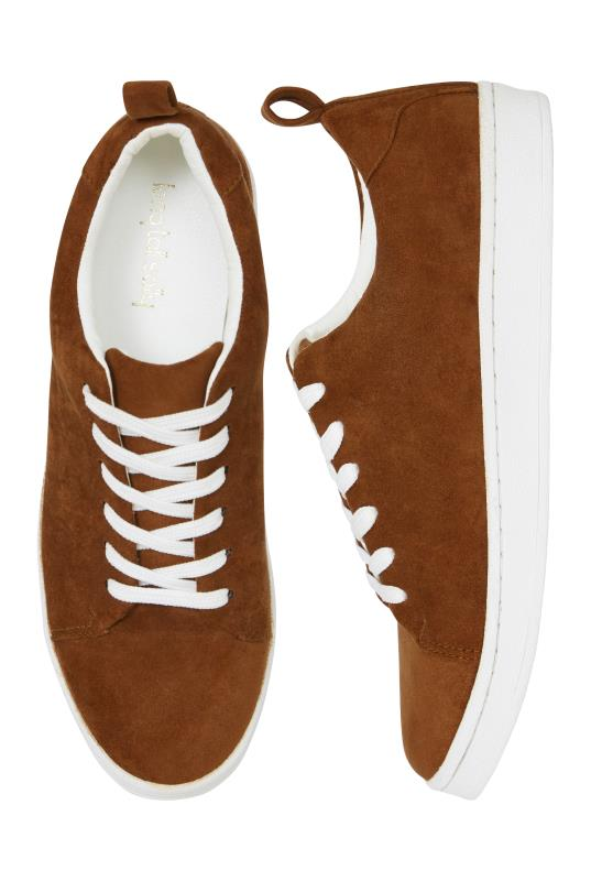 Brown Vesper Lace Up Trainers