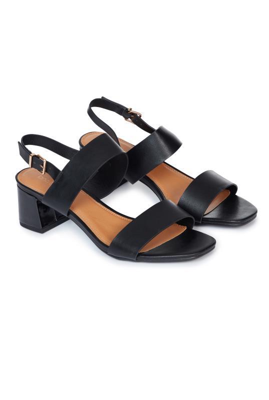 Tall Sandals LTS Skyla Two Part Block Heel Sandal