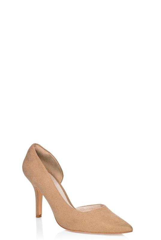 LTS Nude Sweet Pea Leather Lined Heel