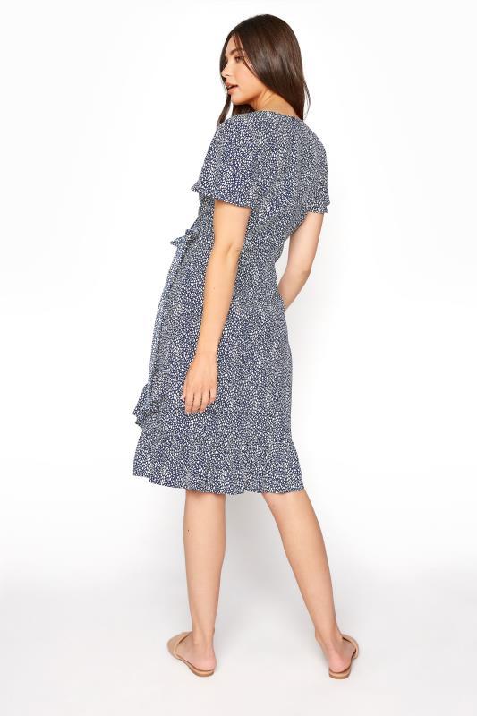 LTS Blue Leopard Print Frill Wrap Dress_C.jpg