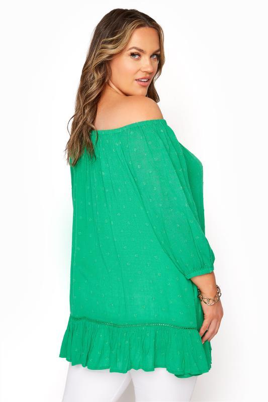 Green Bardot Dobby Top_C.jpg