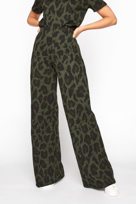 LTS Khaki Leopard Print Lounge Trousers_B.jpg