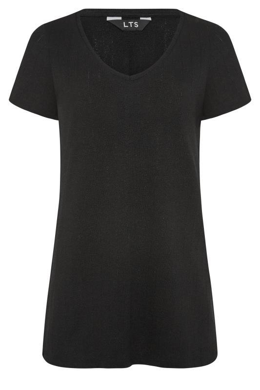 LTS Black V-Neck T-Shirt_F.jpg