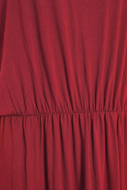 LTS Burgundy Pocket Midaxi Dress_S.jpg