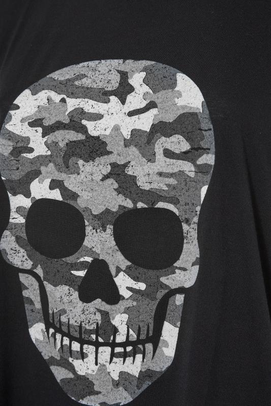 Black Camo Skull Print T-Shirt_S.jpg