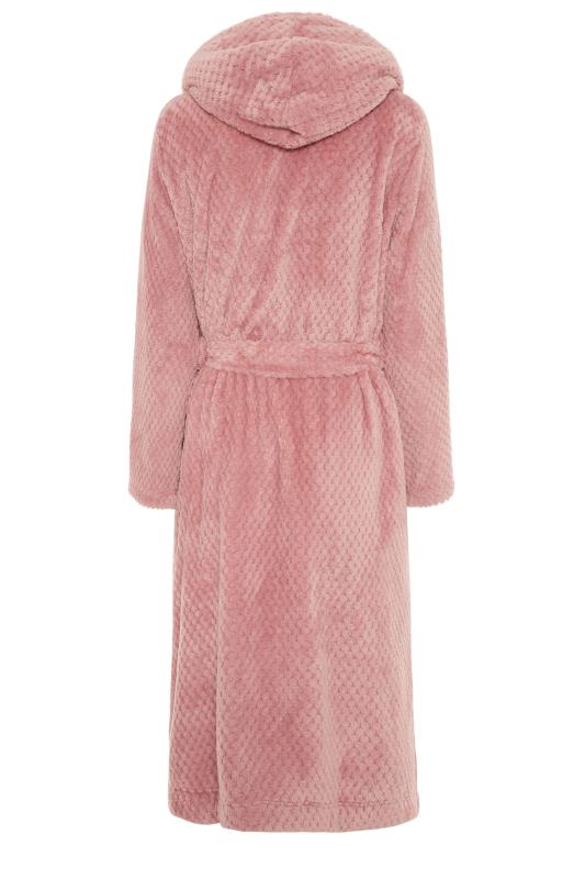 LTS Pink Waffle Hooded Dressing Gown_BK.jpg